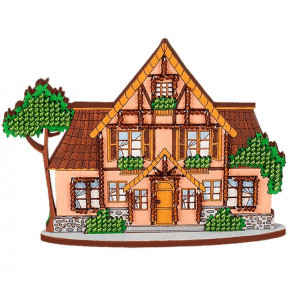 Набор для вышивания бисером по дереву Волшебная страна FLK-015