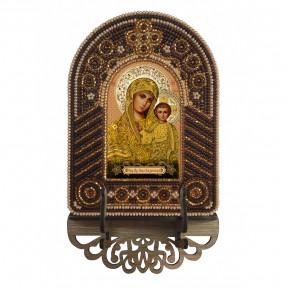 Богородица Казанская Набор для создания иконы с вышитой рамкой-киотом Нова Слобода ВК2002
