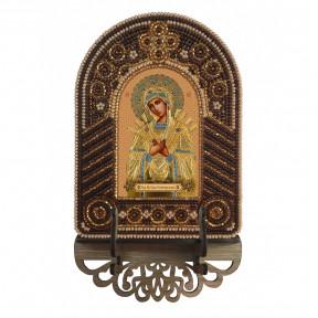 Богородица Семистрельная Набор для создания иконы с вышитой рамкой-киотом Нова Слобода ВК2007