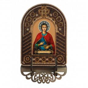 Св. Вмч. Целитель Пантелеймон Набор для создания иконы с вышитой рамкой-киотом Нова Слобода ВК2010