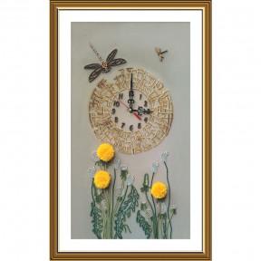 Золотое время Набор для вышивки часов Нова Слобода ЕМ1003