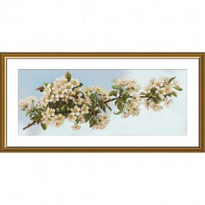 Весна в саду Набор для вышивки крестом Нова Слобода СР1505