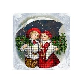 Набор для вышивания бисером КиТ 70915 Рождественские истории 17