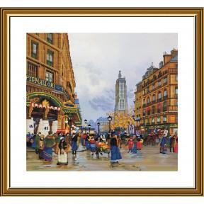 Легенды Парижа. Сен-Жак Набор для вышивки крестом Нова Слобода СР4240