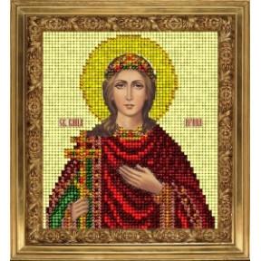 Набор для вышивания бисером КиТ 80715 Св Ирина