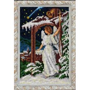 Набор для вышивания бисером КиТ 80915 Рождественский ангел