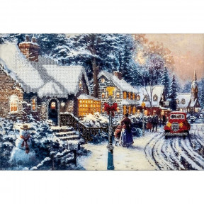 Зима в городе Набор для вышивки бисером Волшебная страна FLF-084