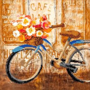 Велосипед Набор для вышивки бисером Волшебная страна FLF-080