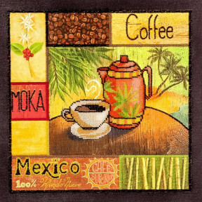 Mexico Набор для вышивки бисером Волшебная страна FLF-056