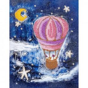 На воздушном шаре Набор для вышивки бисером Волшебная страна FLF-047