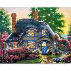 Сказочный домик Набор для вышивки бисером Волшебная страна FLF-040