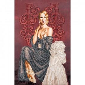 Балерина Набор для вышивки бисером Волшебная страна FLF-039