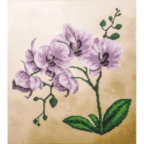 Розовая орхидея Набор для вышивки бисером Волшебная страна FLF-018