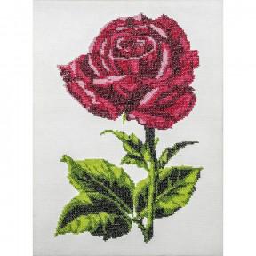 Роза Набор для вышивки бисером Волшебная страна FLF-009