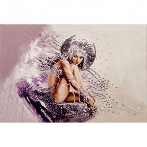 Девушка-ангел Набор для вышивки бисером Волшебная страна FLF-005