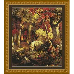 Набор для вышивания  Kustom Krafts 97047 Октябрь
