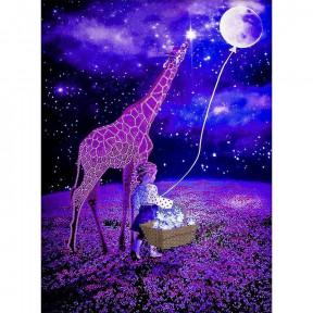 Сон под звездами Схема для вышивания бисером Волшебная страна FLS-116