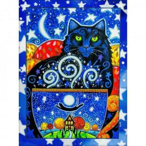 Созвездие кошки Схема для вышивания бисером Волшебная страна FLS-099
