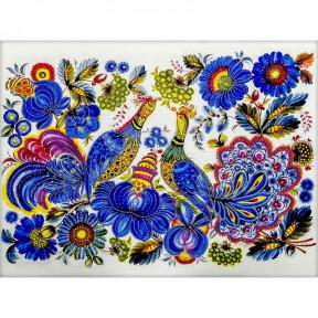 Петриковская роспись Схема для вышивания бисером Волшебная страна FLS-095
