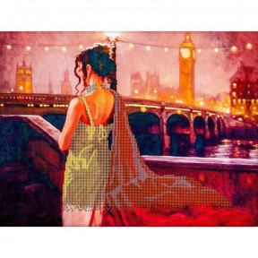 Вечерняя прогулка Схема для вышивания бисером Волшебная страна FLS-077