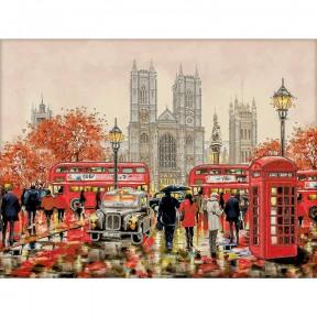 Лондон-3 Схема для вышивания бисером Волшебная страна FLS-068