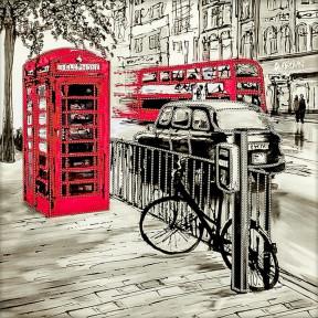 Лондон Схема для вышивания бисером Волшебная страна FLS-066