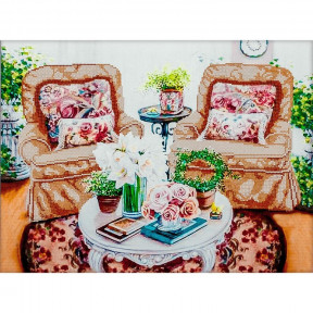 Домашний уют Схема для вышивания бисером Волшебная страна FLS-062