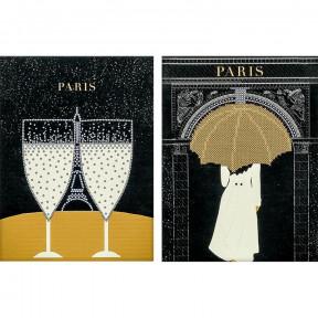 Париж-1 Схема для вышивания бисером Волшебная страна FLS-044D