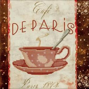 De Paris Схема для вышивания бисером Волшебная страна FLS-029