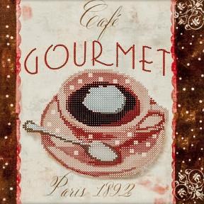 Gourmet Схема для вышивания бисером Волшебная страна FLS-028