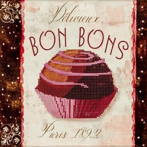 Bons Bons Схема для вышивания бисером Волшебная страна FLS-027