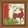 Набор для вышивания Dimensions 70-08851 Winter reindeer фото