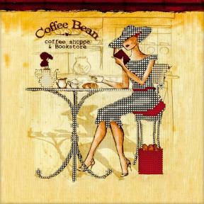 Coffee Bean Схема для вышивания бисером Волшебная страна FLS-015