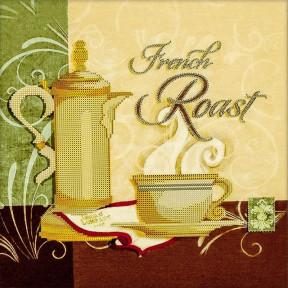 French Roast Схема для вышивания бисером Волшебная страна FLS-013