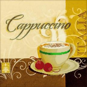 Cappuccino Схема для вышивания бисером Волшебная страна FLS-012
