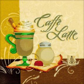 Caffe latte Схема для вышивания бисером Волшебная страна FLS-011