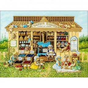 Дом медведей Схема для вышивания бисером Волшебная страна FLS-002