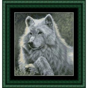 Набор для вышивания  Kustom Krafts GAW-001 Волк