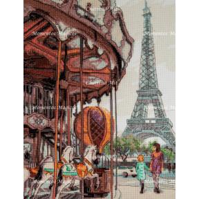 Французская карусель Чарівна Мить Набор для вышивания крестом М-479