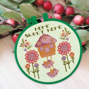 Дом милый дом Набор для вышивки крестом Абрис Арт AHM-002
