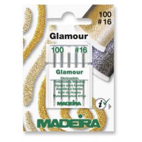 Иглы для ниток Glamour № 12 100/16 (5 игл/карточка) 9453
