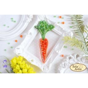 """Набор для вышивания бисером Tela Artis """"Гламурная морковка"""" Б-017"""