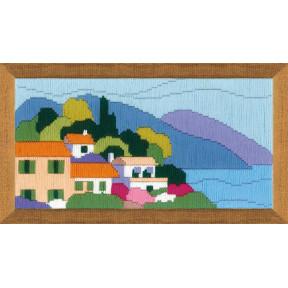 Набор для вышивания Риолис 1631 Городок у моря