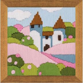 Набор для вышивания Риолис 1572 Розовый сад
