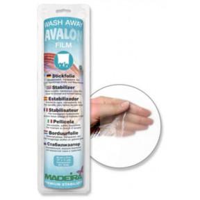 9440 Стабилизатор Avalon Film водорастворимый, прозрачный, тонкий, для ворсистых и тонких тканей, трикотажа 30см*10м