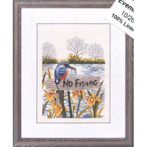 No fishing Набор для вышивания Eva Rosenstand 12-975