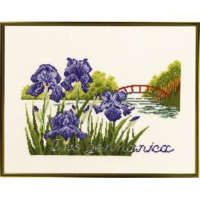 Bridge and flowers Набор для вышивания Eva Rosenstand 12-303