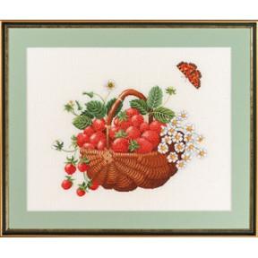 Basket w/strawberries Набор для вышивания Eva Rosenstand 14-267