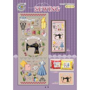 Шитье Набор для вышивания крестом (Linen 32)SODA Stitch SO-G116L