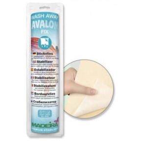 Стабилизатор Avalon Fix водорастворимый, самоклеющийся, для всех видов вышивки, кружев и каймы, 24см*1м 9443